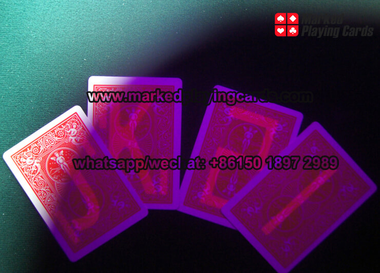 Magic Bicycle Invisible Ink Marked Playing Cards