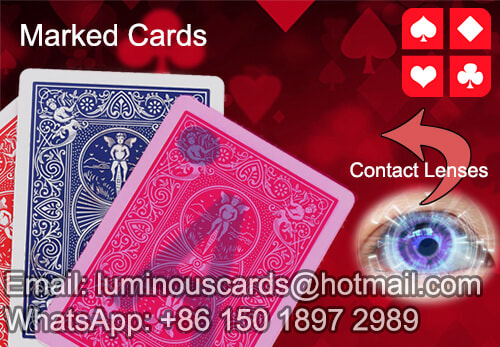 cheating poker cards contact lenses